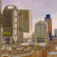 CBNL deliver 4G wireless multipoint backhaul for O2