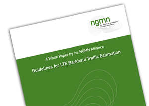 LTE Backhaul Traffic Estimation